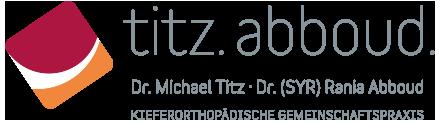 Dr. M. Titz & Dr. (SYR) R. Abboud · Kieferorthopädische Gemeinschaftspraxis ·Kieferorthopädie Löhne & Halle · Logo